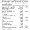 nuIQue Vegan Alenol ingredients