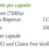 nuIQue Vegan Vitamin D ingredients
