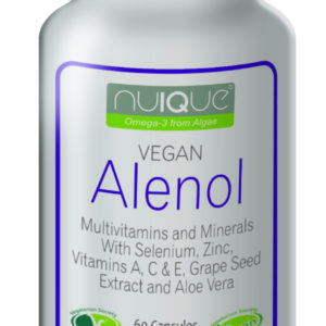 nuIQue Vegan Alenol bottle