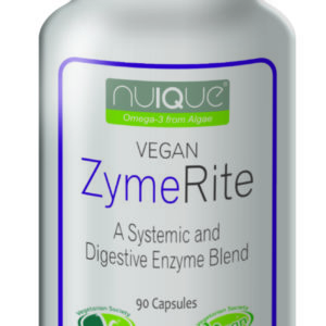 nuIQue Vegan ZymeRite bottle