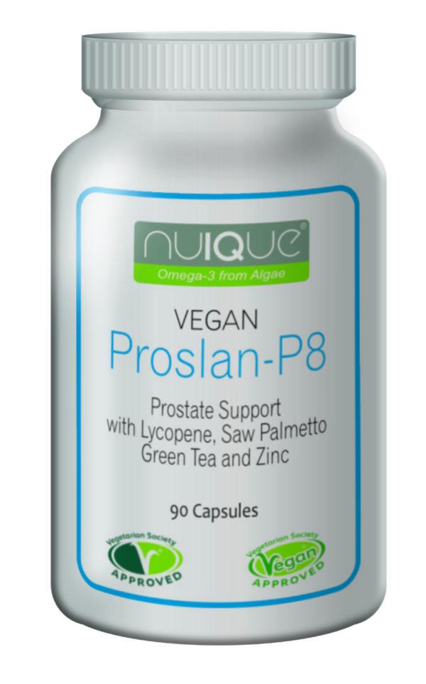 nuIQue Proslan P8 Prostate Support bottle
