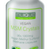 nuIQue Vegan MSM bottle