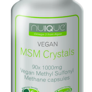 nuIQue Vegan MSM bottle